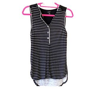 Ann Taylor XSP striped tank top